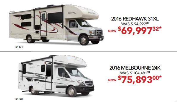 RV Fever Bill Plemmons Class C Sale