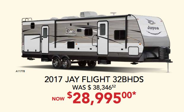 RV Fever Bill Plemmons Jay Flight Sale