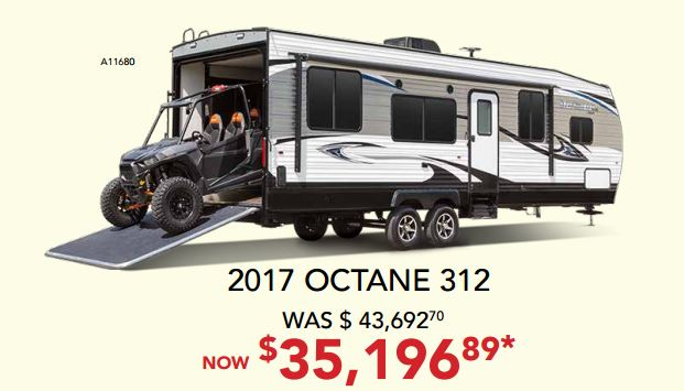 RV Fever Bill Plemmons Octane Sale