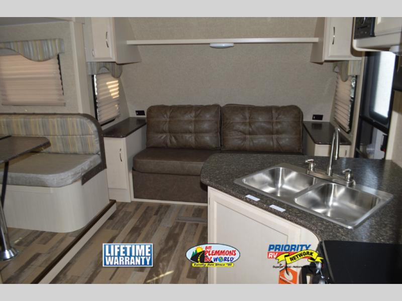 Winnebago Minnie Travel Trailer Front Living