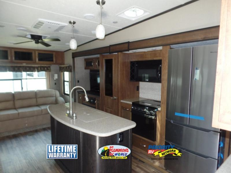 Coachmen Chaparral Fifth Wheel Kitchen
