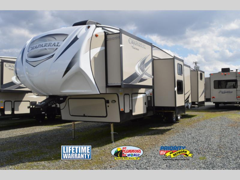 Coachmen Chaparral Fifth Wheel Slide Outs