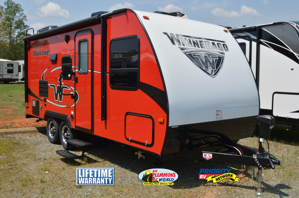 Winnebago Micro Minnie Travel Trailer Red
