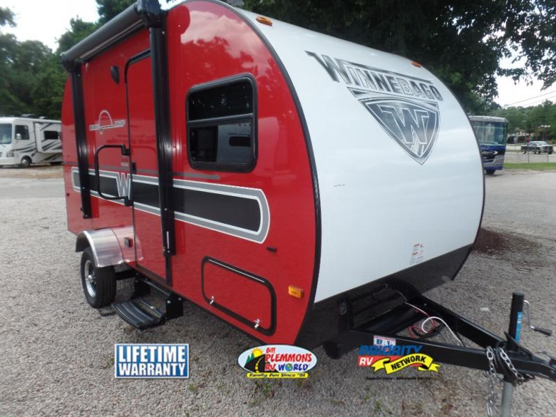 Winnebago Winnie Drop Travel Trailer Red