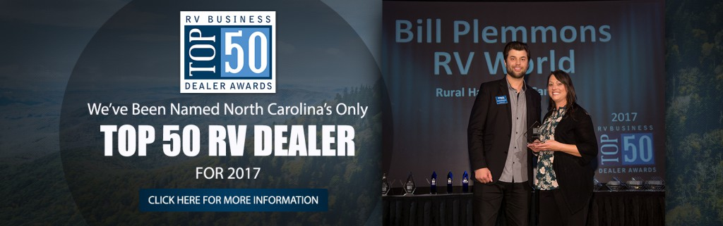 Bill Plemmons Top 50 Dealer Award