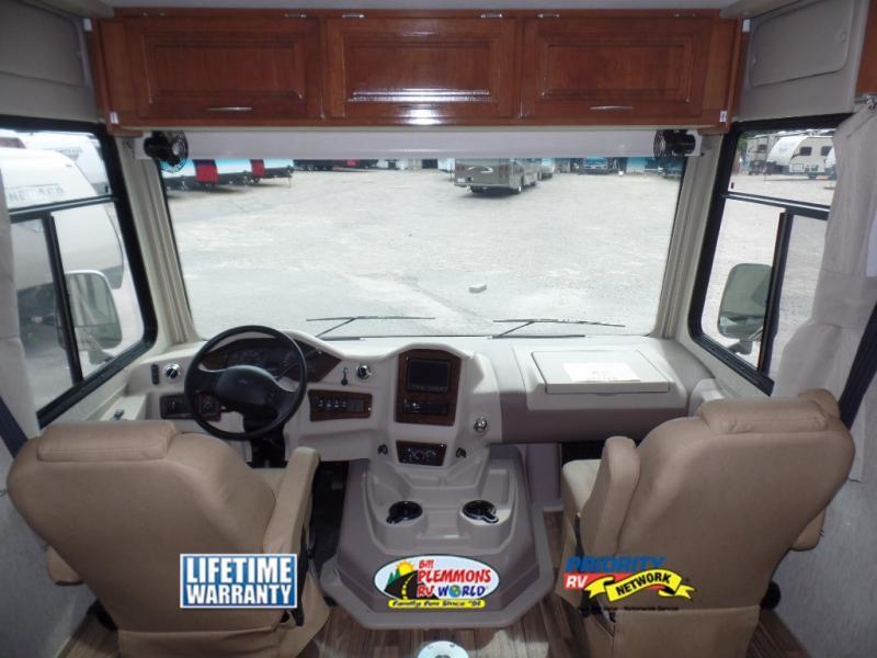 Bill Plemmons Coachmen Mirada Class A Motorhome Driver's Seat