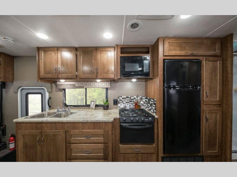Winnebago Intent Class A Motorhome Kitchen