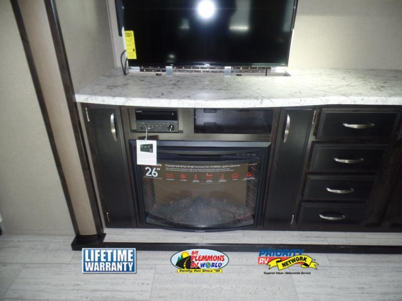 Grand Design Imagine Travel Trailers Fireplace