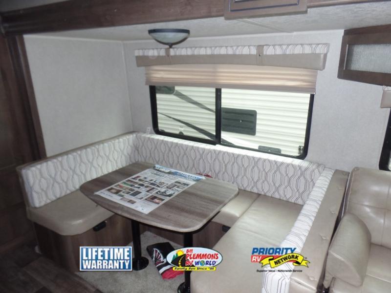 Palomino Puma Travel Trailer Deep U-Shaped Dinette