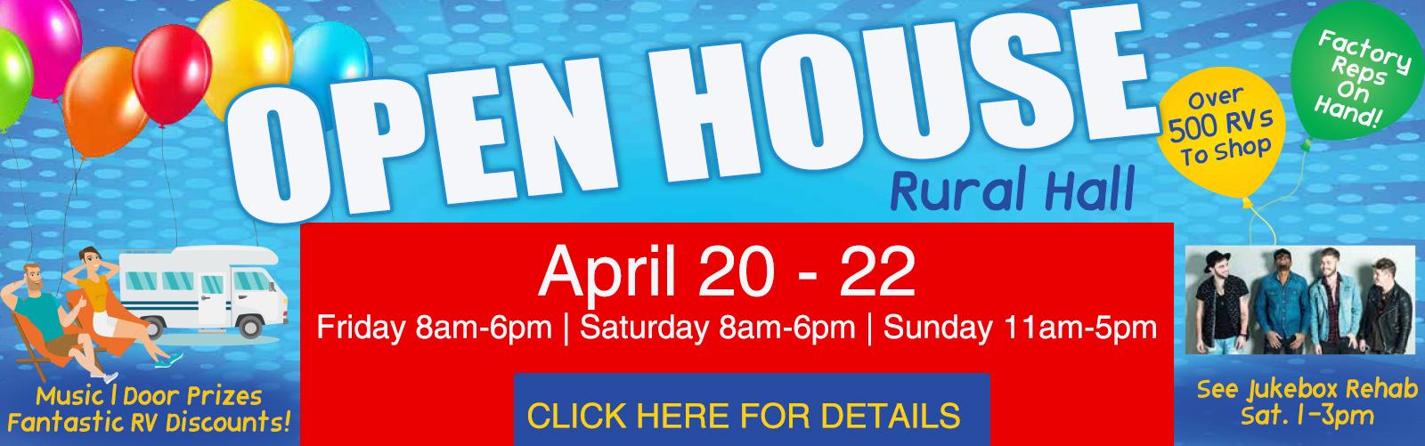 Bill Plemmons Open House RV Sale