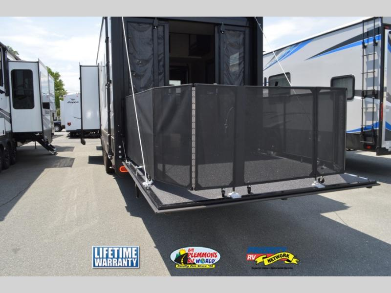 Grand Design Momentum Toy Haulers Patio