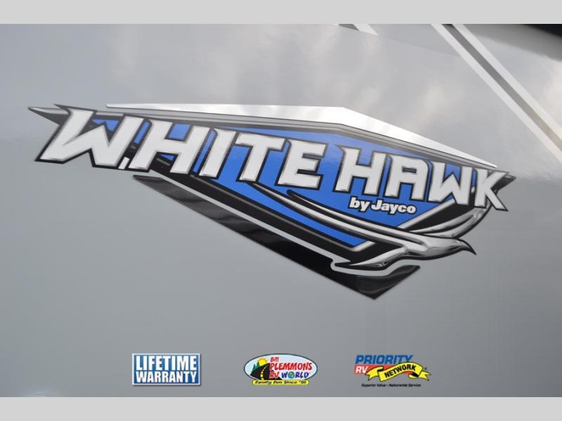 Jayco White Hawk Travel Trailer logo