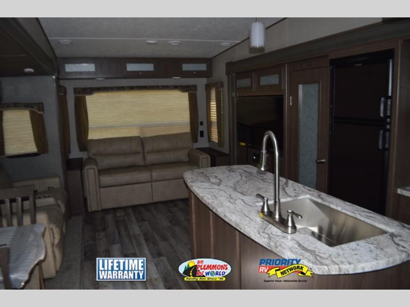 Keystone Hideout Fifth Wheel Interior