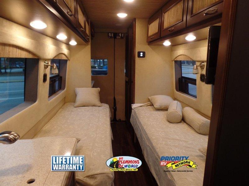 Regency Concept One Class B Motorhome sleeping