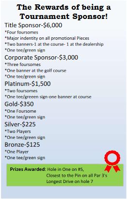 bill plemmons customer appreciation rv sale 2018 Golf Tournament Sponsors