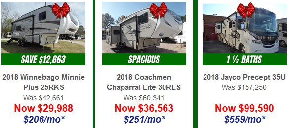 Red Bow RV Sale Bill Plemmons RV World Fifth Wheels and Motorhomes