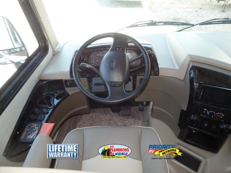 Jayco Alante Review Class A Motorhome Bill Plemmons RV Cockpit