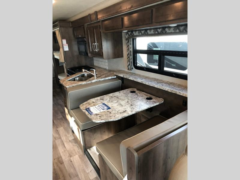 Jayco Alante Review Class A Motorhome Bill Plemmons RV Dinette