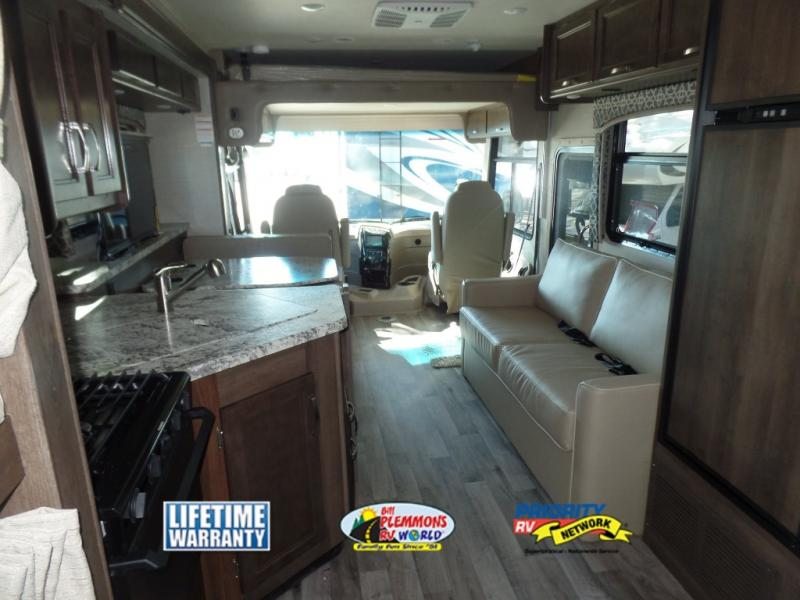 Jayco Alante Review Class A Motorhome Bill Plemmons RV Interior