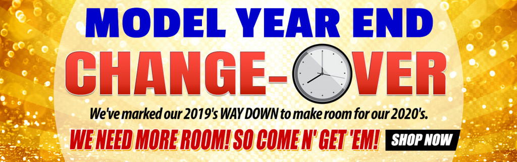 Model Year Closeout Sale